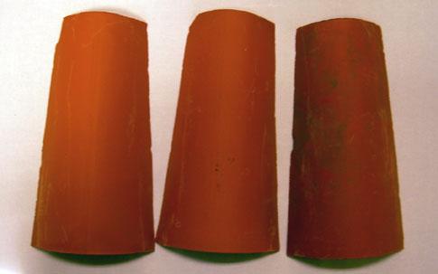 Dibujos para pintar en tejas top tejas decorativas con decoupage gallery of macetas pintadas a Pintar tejas de barro